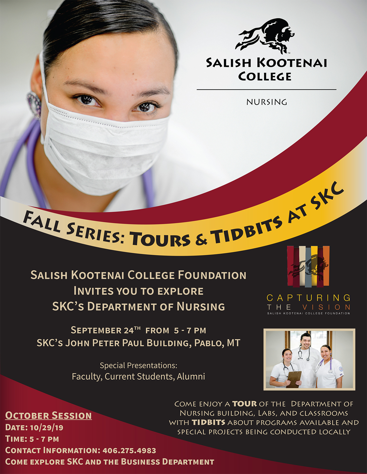 Fall Series Tours and Tidbits September Nursing